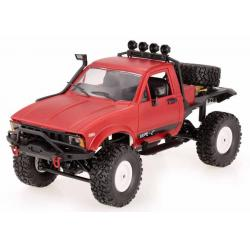 AVTO OFF-ROAD WPL C-14K 1:16 4x4 - KIT - RDEČI