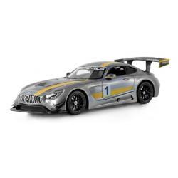 RC MERCEDES-AMG GT3/1:14 RTR/POLNILNA BATERIJA-SIVI
