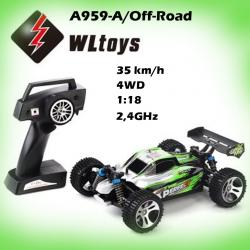 RC BUGGY/A959-A/4WD/1:18/2,4GHz/RTR