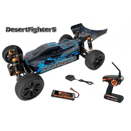 RC BUGGY DF-DESERT FIGHTER 5/1:10/4WD/RTR/40km/h
