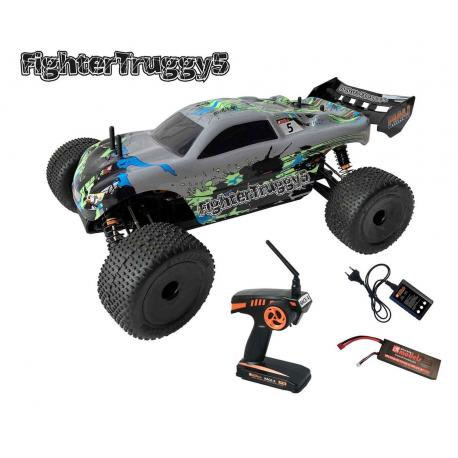 DF-FIGHTER TRUGGY 5  BREZKRTAČNI 4WD RTR (60KM/H)