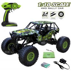ROCK CRAWLER THE RULER 1:10 2,4GHz RTR-GREEN