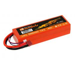 LI-PO 7,4V/6500mA/45C/T KONEKTOR-DF MODELS