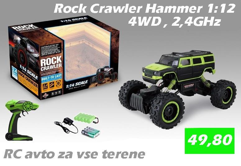 ROCK CRAWLER HAMMER 1:12/2,4GHz/4WD