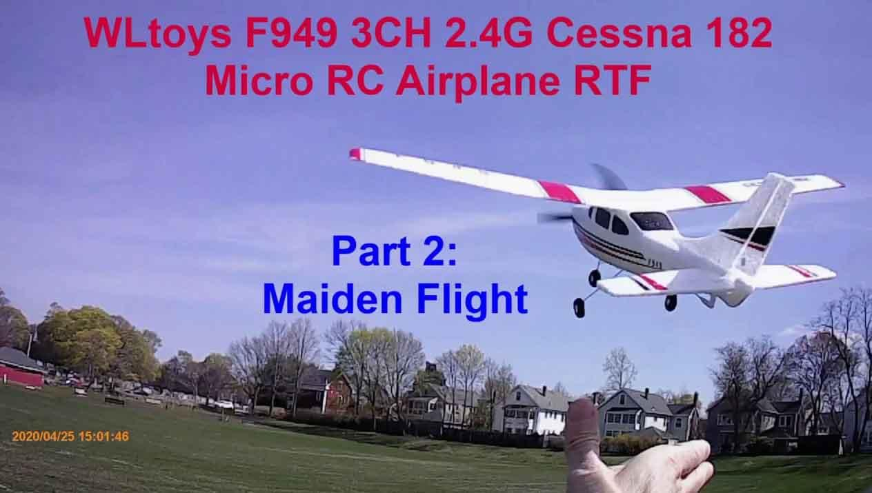 AIR TRAINER/WL TOYS 949 MINI CESSNA