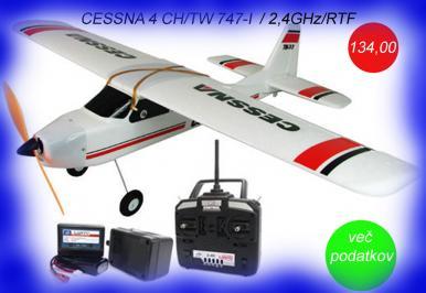 CESNA 747 TW/4 CH/2,4GHz/RTF